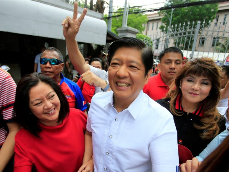 Philippines rights groups denounce presidential bid by Marcos